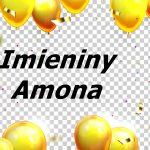imieniny Amona